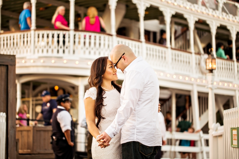 Disneyland Engagement Session by D. Park Photography // Inspired By Dis