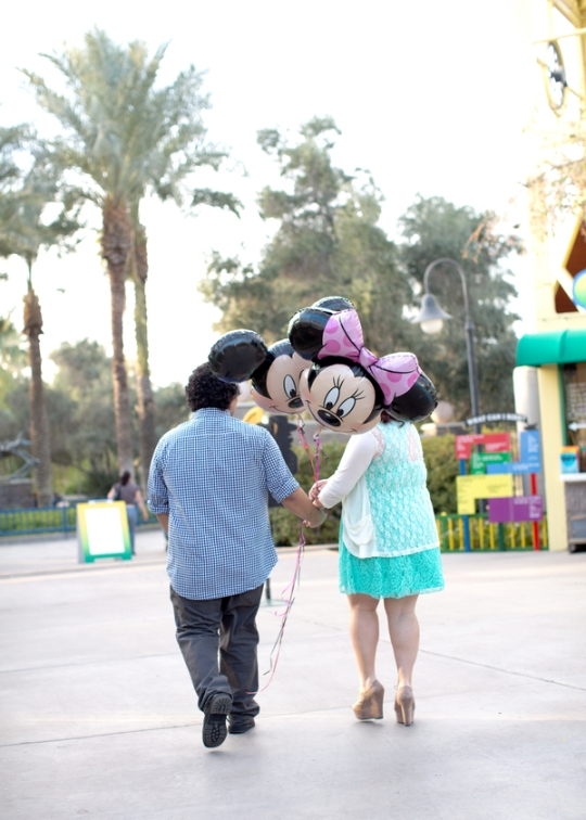 Disney Themed Anniversary Photos {Blue Hills Photo} // Inspired By Dis