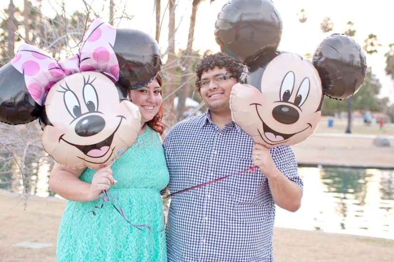 Disney Themed Just Married Photo Shoot {Blue Hills Photo} // Inspired By Dis