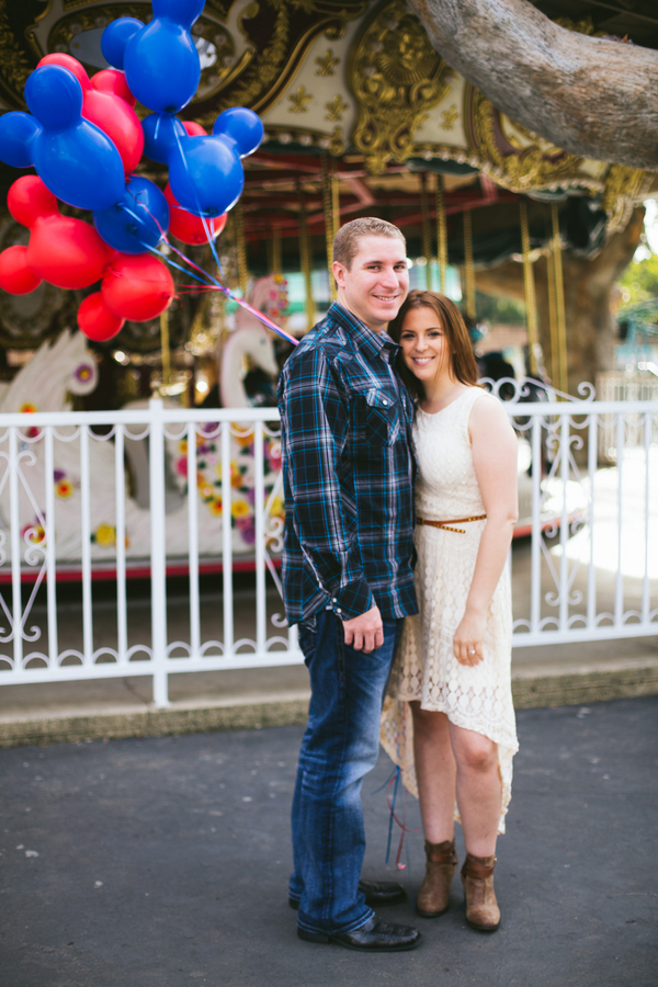 At-Home Disney Themed Engagement Session // Photography by Crystal Shreeve Photography // Inspired By Dis
