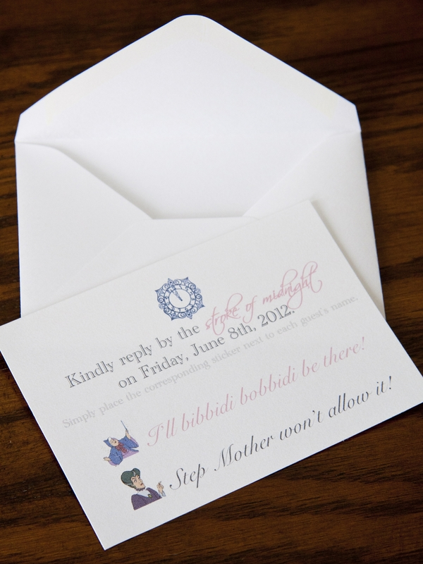 Cinderella Wedding Invitations, photo by Degrees North Images // Inspired By Dis