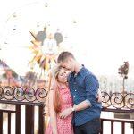 Jennifer and Daniel's Playful Disneyland Engagement Session