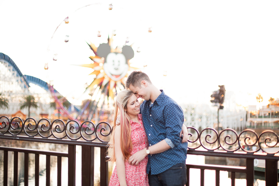 A Playful Disneyland Engagement Session by Katherine Rose Photography // Inspired By Dis