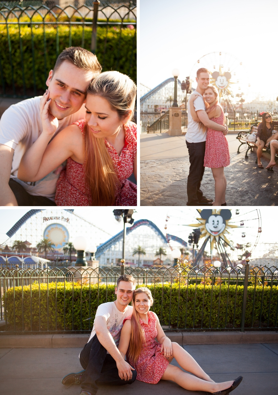 A Disneyland Engagement Session by Katherine Rose Photography // Inspired By Dis