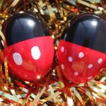 Mickey and Minnie Easter Eggs