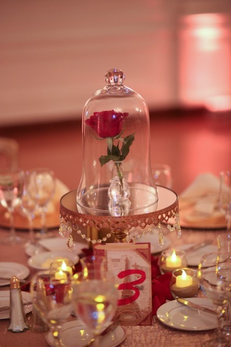 Beauty And The Beast Themed Wedding.Victoria And Jason S Beauty And The Beast At Home Disney Wedding