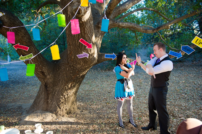 Alice in Wonderland Engagement Photos // Jim Kennedy Photographers // Inspired By Dis