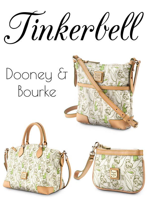 Limited Edition Tinkerbell Dooney & Bourke Bags // Inspired By Dis