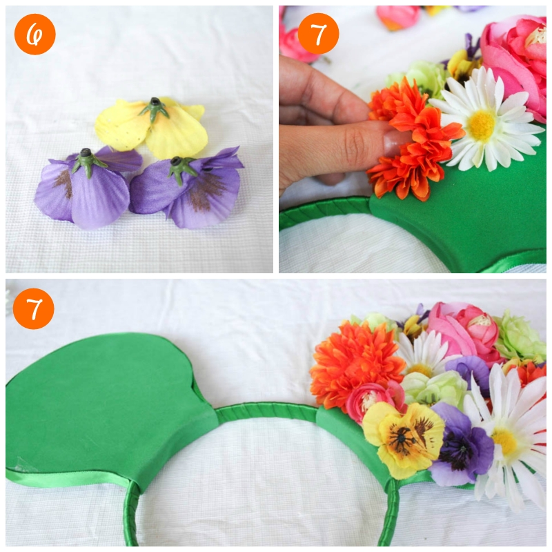 DIY Floral Mickey Ears // Inspired By Dis
