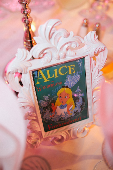 Paty and Travis' Disney Wedding table signs by Jim Kennedy Photographers // Inspired By Dis