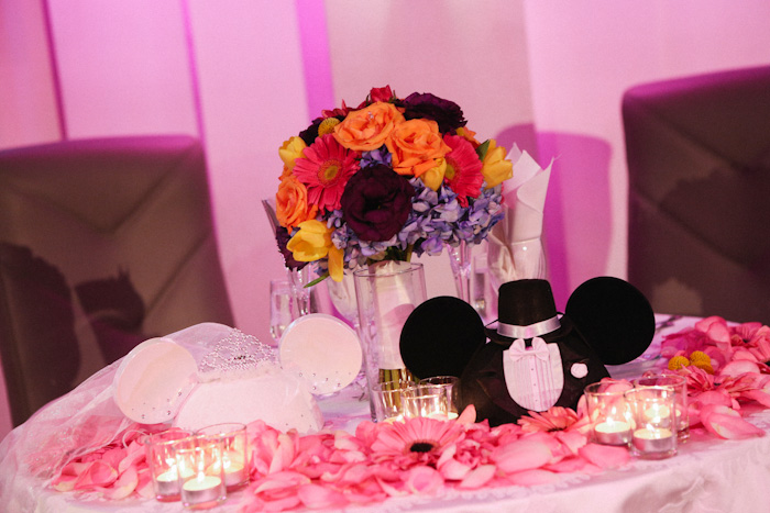 Paty and Travis' At Home Disney Wedding by Jim Kennedy Photographers // Inspired By Dis