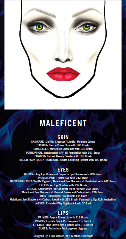 Mac Maleficent Makeup Collection This Fairy Tale Life