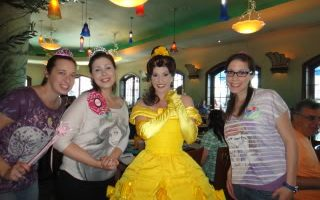 Disneyland Bachelorette Party