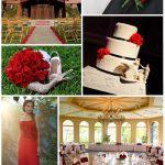 Red Roses Disneyland Wedding Inspiration Board