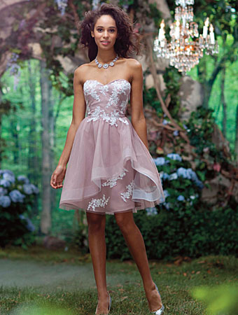 2014 Disney Maiden Bridesmaid Dresses from Alfred Angelo - Style 519