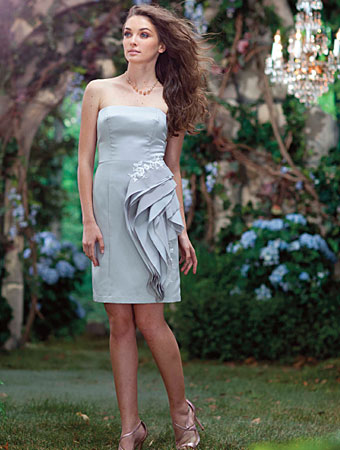 2014 Disney Maiden Bridesmaid Dresses from Alfred Angelo - Style 521