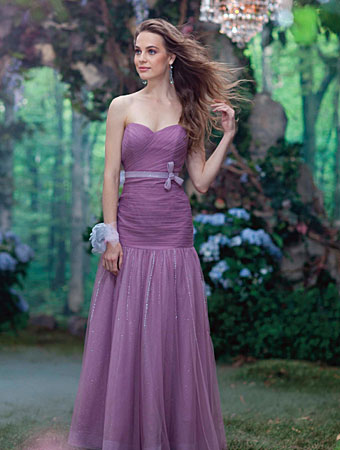 2014 Disney Maiden Bridesmaid Dresses from Alfred Angelo - Style 525