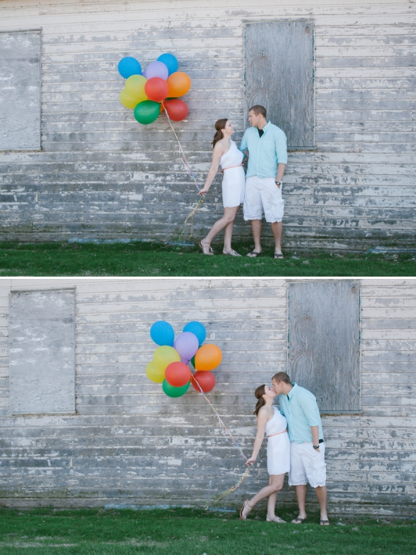 Up Inspired Engagement Session - Sara Marie Photography