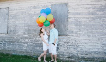 Inspired by Up Engagement Session - Sara Marie Photography