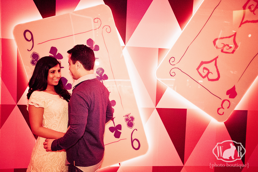 Gina and Richard's Mad T Party Engagement Photos - White Rabbit Photo Boutique