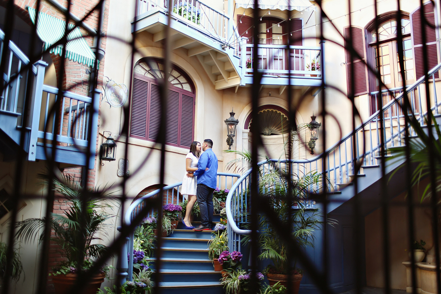 Disneyland Engagement Photos - Christina Sanchez Photography