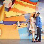 Daniella and Edgar's Modern and Chic Disneyland Engagement Photos
