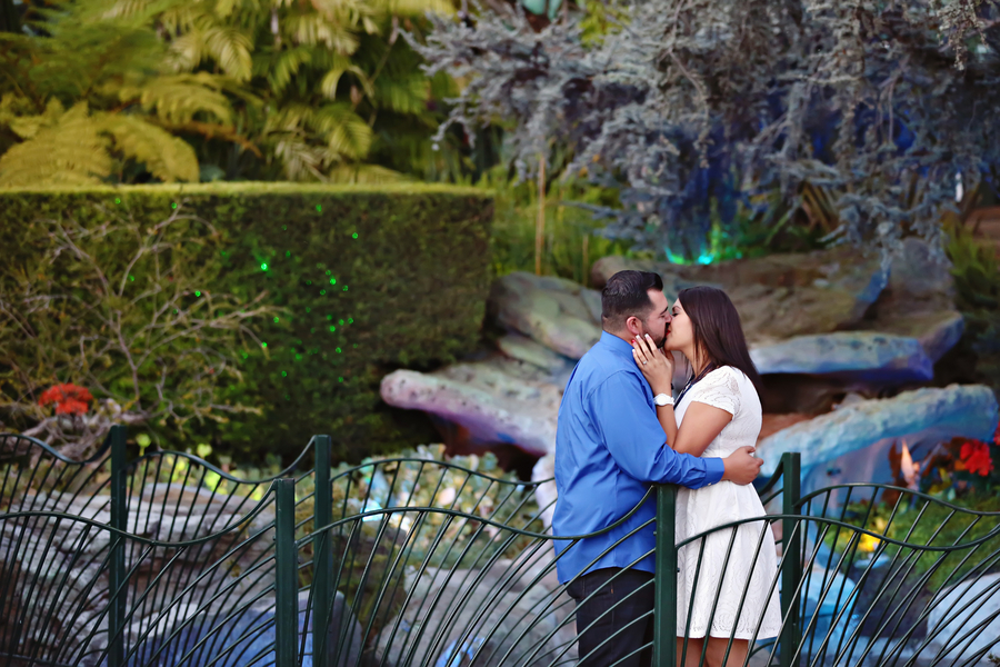 Modern and Chic Disneyland Engagement Photos - Christina Sanchez Photography