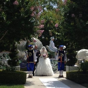 "A True ""Guest"" Post: Karen and Ryan's Fairy Tale Disneyland Wedding"