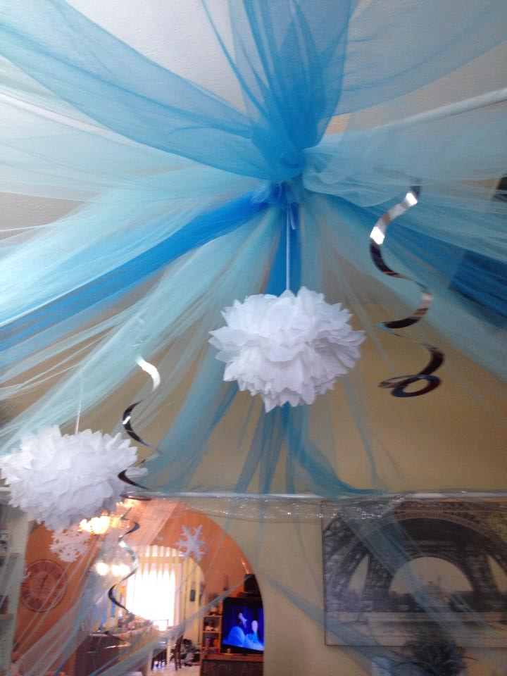 frozen birthday party for under $100 - this fairy tale life Frozen Decoration Ideas