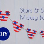 Stars and Stripes Mickey Banner