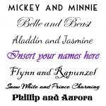 FREE Disney Couples Printable!