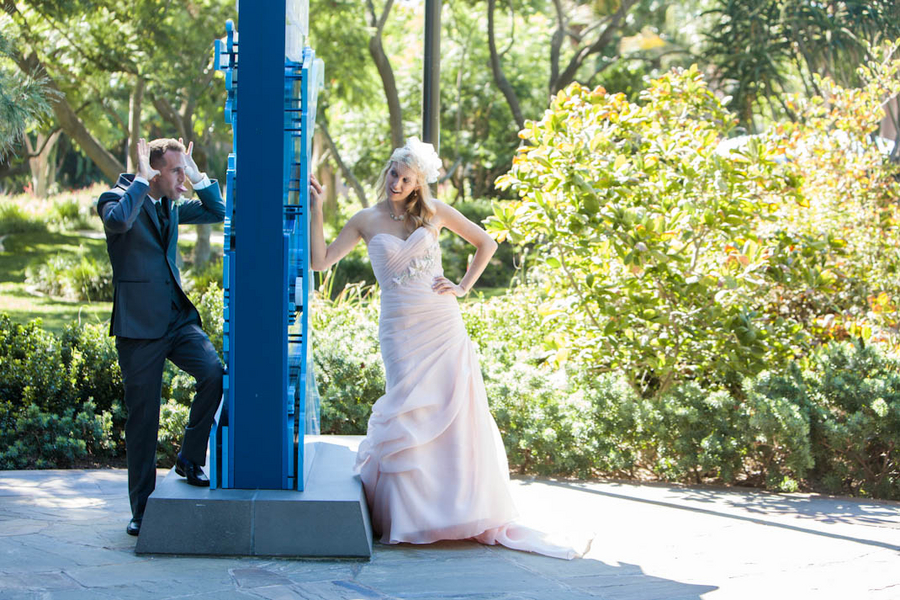 Romantic Disneyland Wedding // White Rabbit Photo Boutique