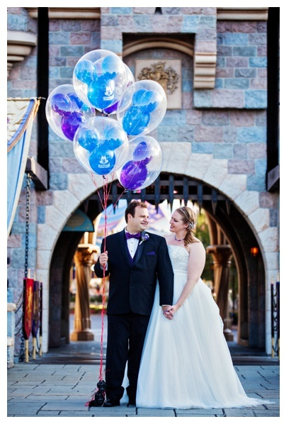 Keri & Tony's Disneyland Ticket Book Wedding Invitations