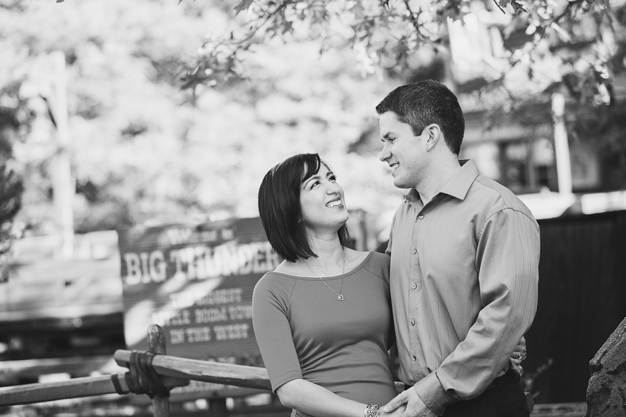 Classy and Casual Disneyland Engagement Photos // White Rabbit Photo Boutique