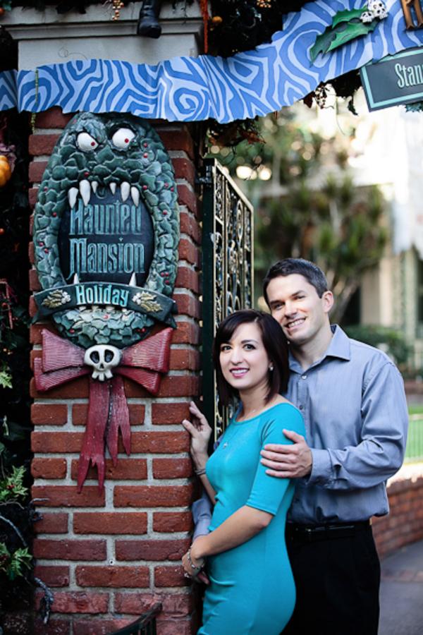Disneyland Engagement Photos // White Rabbit Photo Boutique