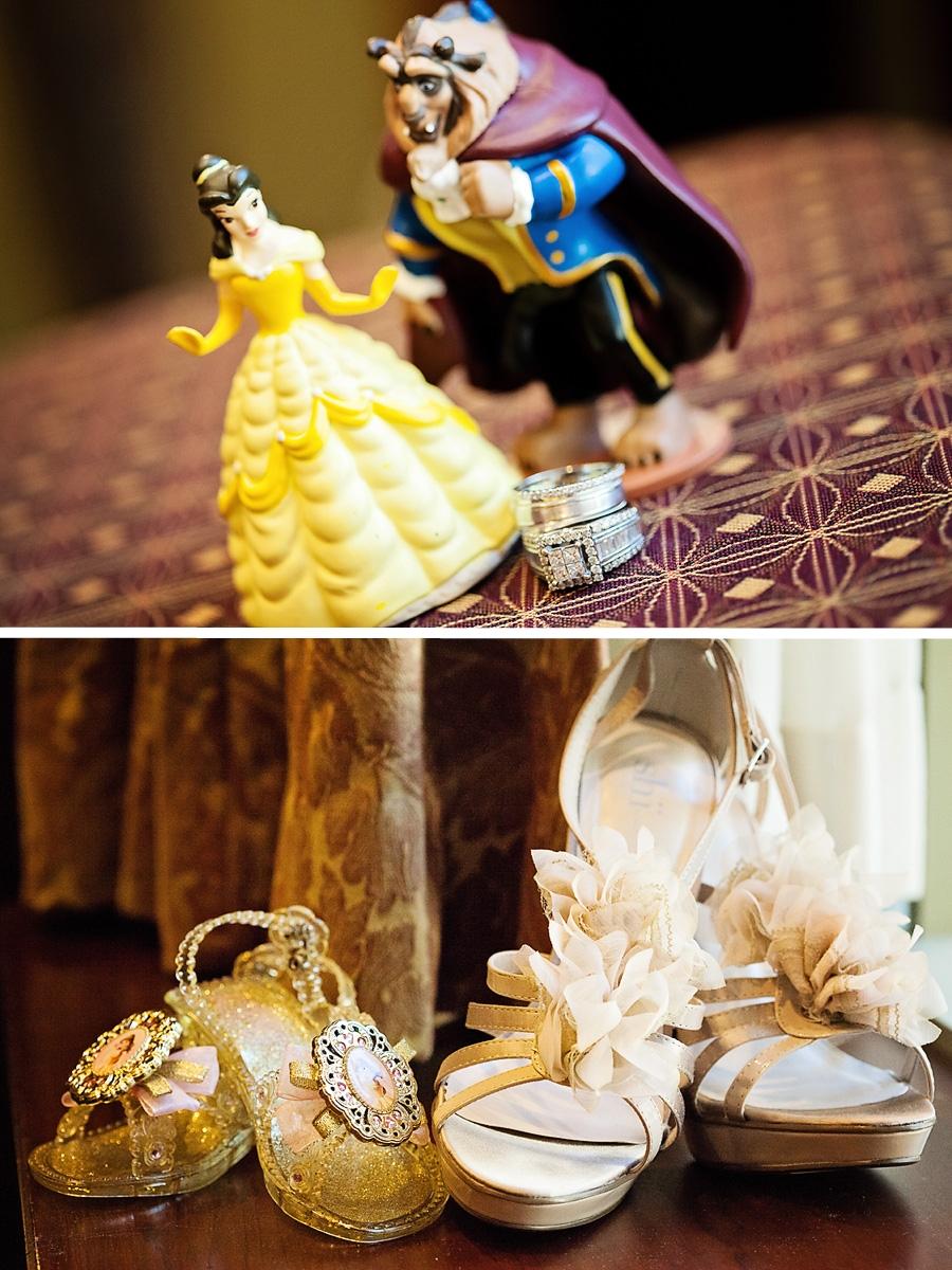 Beauty and the Beast Disneyland Wedding // White Rabbit Photo Boutique