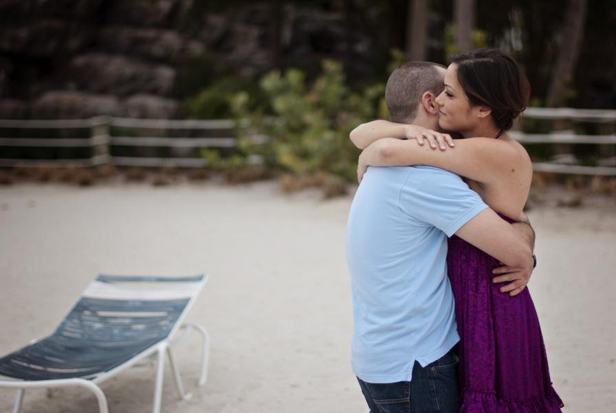 Charlotte and Seán's Disney's Boardwalk Inn Engagement Shoot // Rudy + Marta Photography