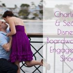 Charlotte & Seán's Disney's Boardwalk Inn Engagement Shoot
