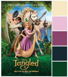 Poster Palette – Tangled