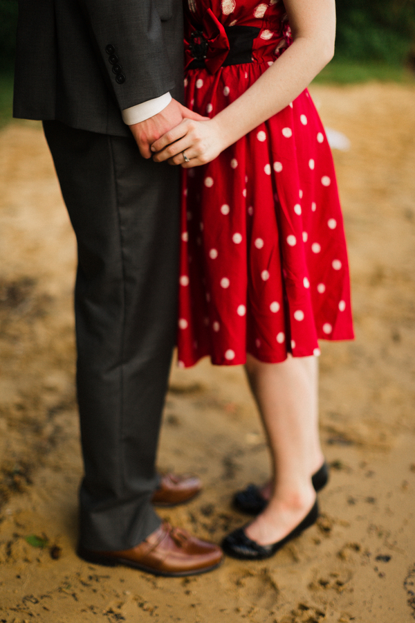 At Home Disney Engagement Photos // Jo Photo
