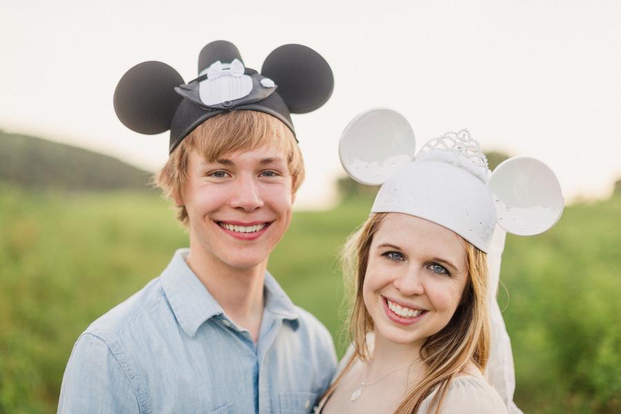 At Home Disney Engagement Photos // Jo Photo