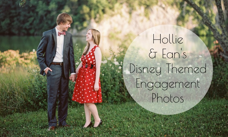 Disney Themed Engagement Photos // Jo Photo