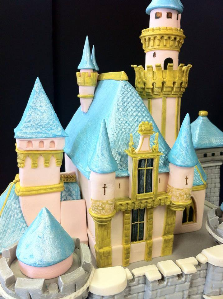The Most Detailed Disneyland Castle Cake You've Ever Seen by Robyn Loves Cake