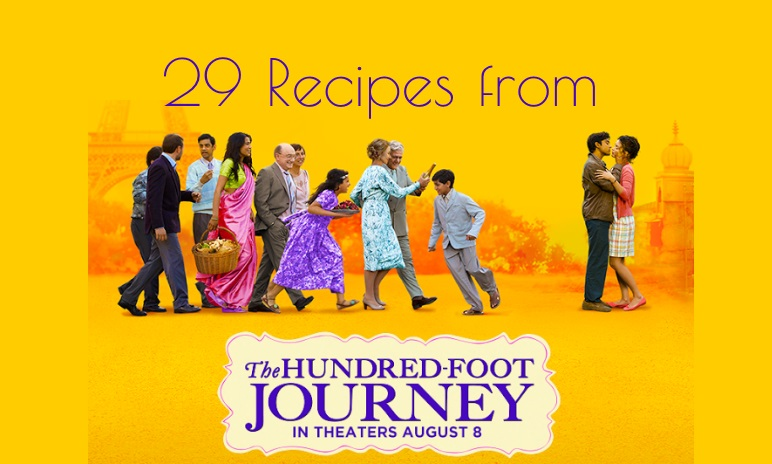 29 Recipes from The Hundred-Foot Journey