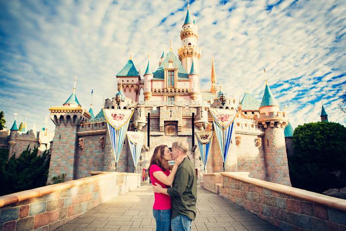 Disneyland Engagement Photos - Jim Kennedy Photographers