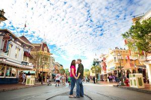 Kim and Terry's Disneyland Engagement Photos