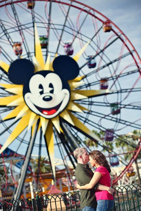 Disneyland Park Engagement Photos - Jim Kennedy Photographers