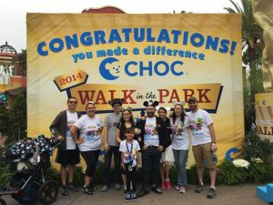CHOC Walk in the Park 2014