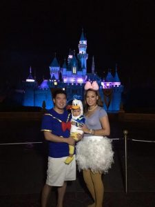 Disney Bride Halloween Costume Parade 2014