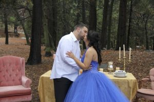 Melissa and Andre's Beauty and the Beast Engagement Photos